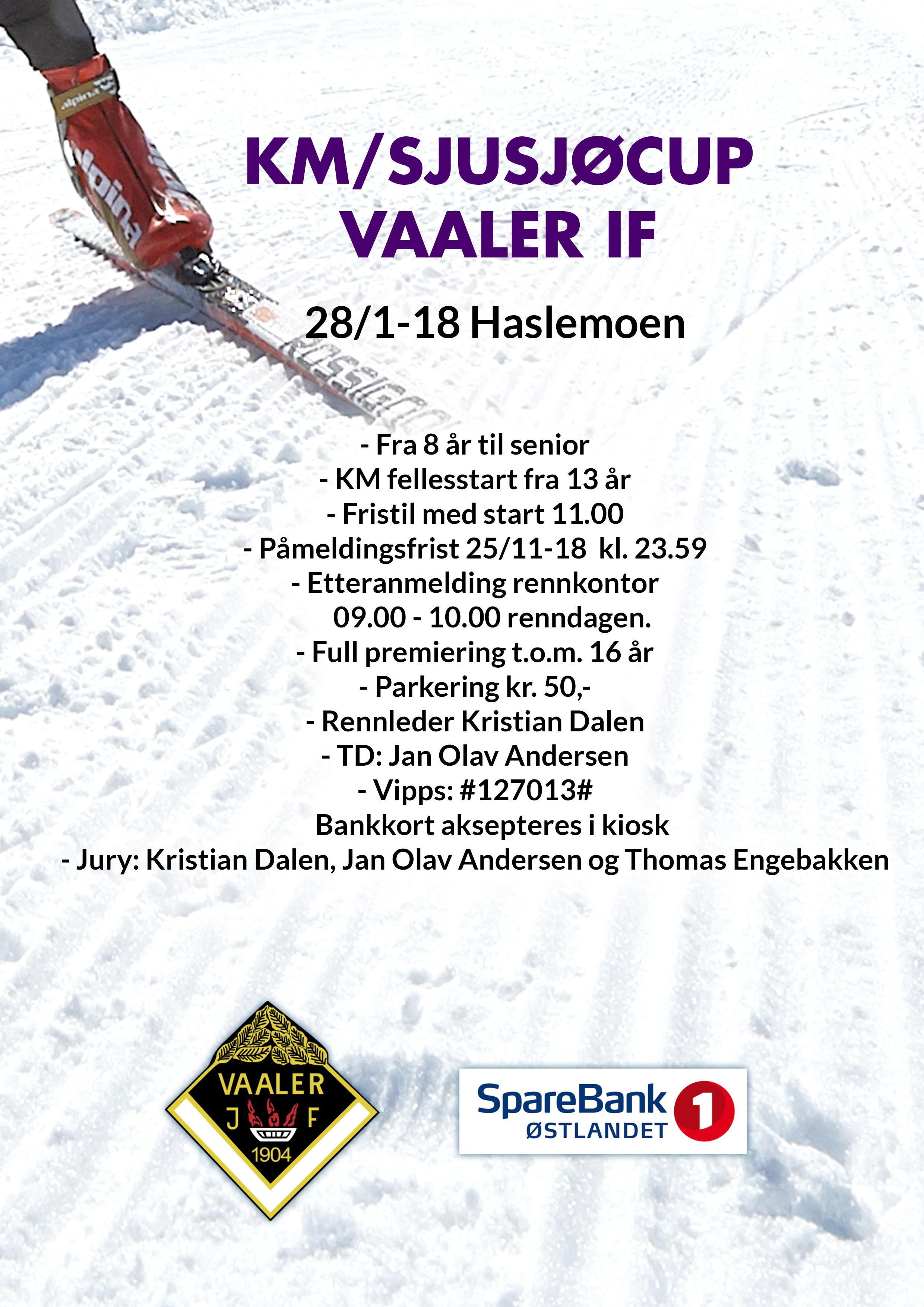 Invitasjon KM/Sjusjøcup